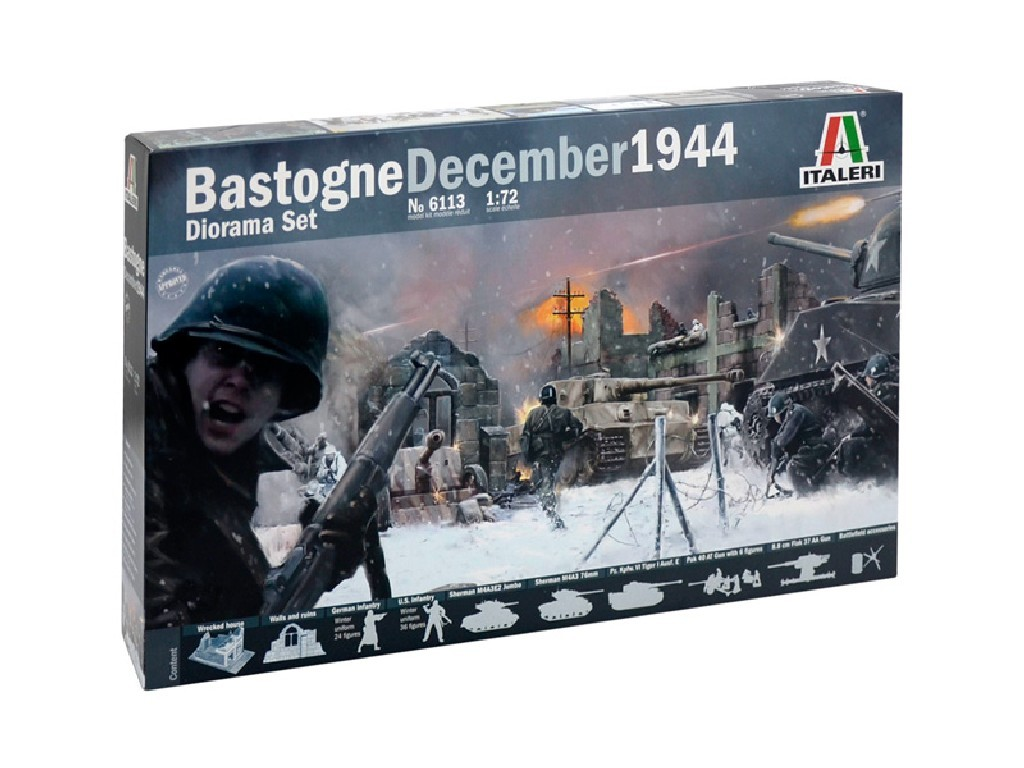 1/72 Model Kit diorama 6113 - BATTLE OF BASTOGNE