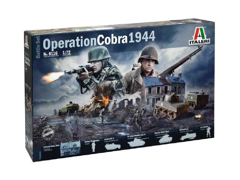1/72 Model Kit diorama 6116 - OPERATION COBRA 1944