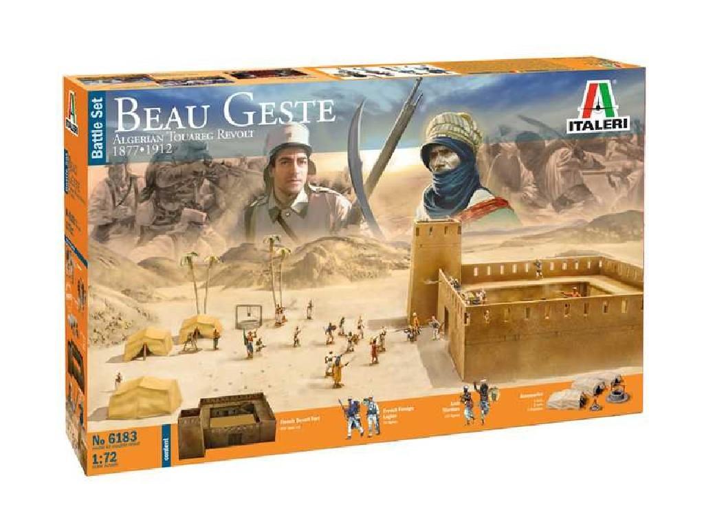 1/72 Model Kit diorama 6183 - Beau Geste - Algerian Tuareg Revolt