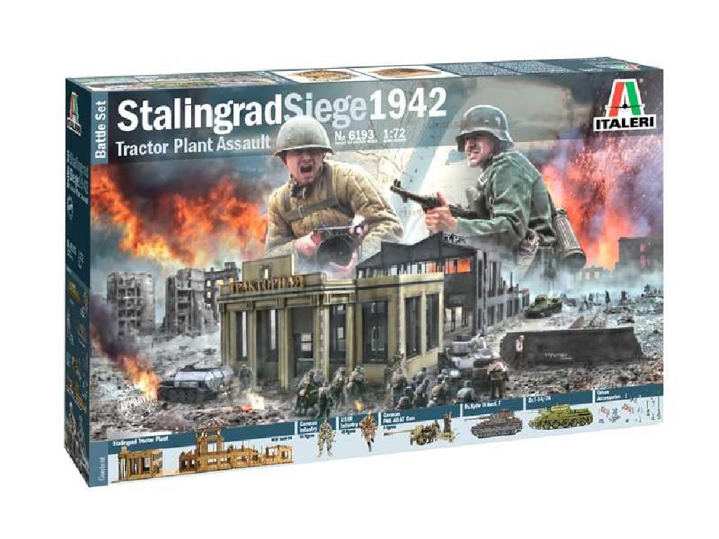 1/72 Model Kit diorama 6193 - STALINGRAD SIEGE 1942