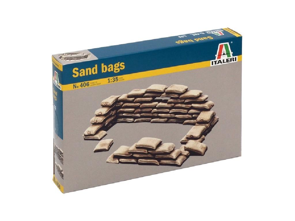 1/35 Model Kit doplňky 0406 - SANDBAGS