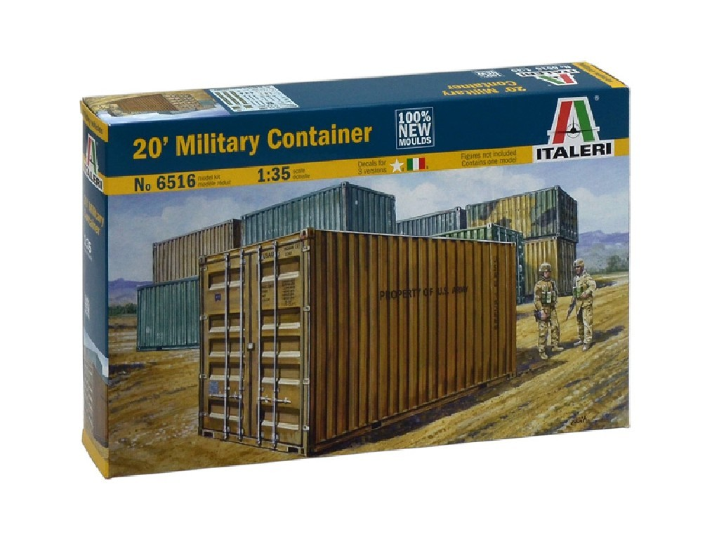1/35 Model Kit doplňky 6516 - 20 MILITARY CONTAINER