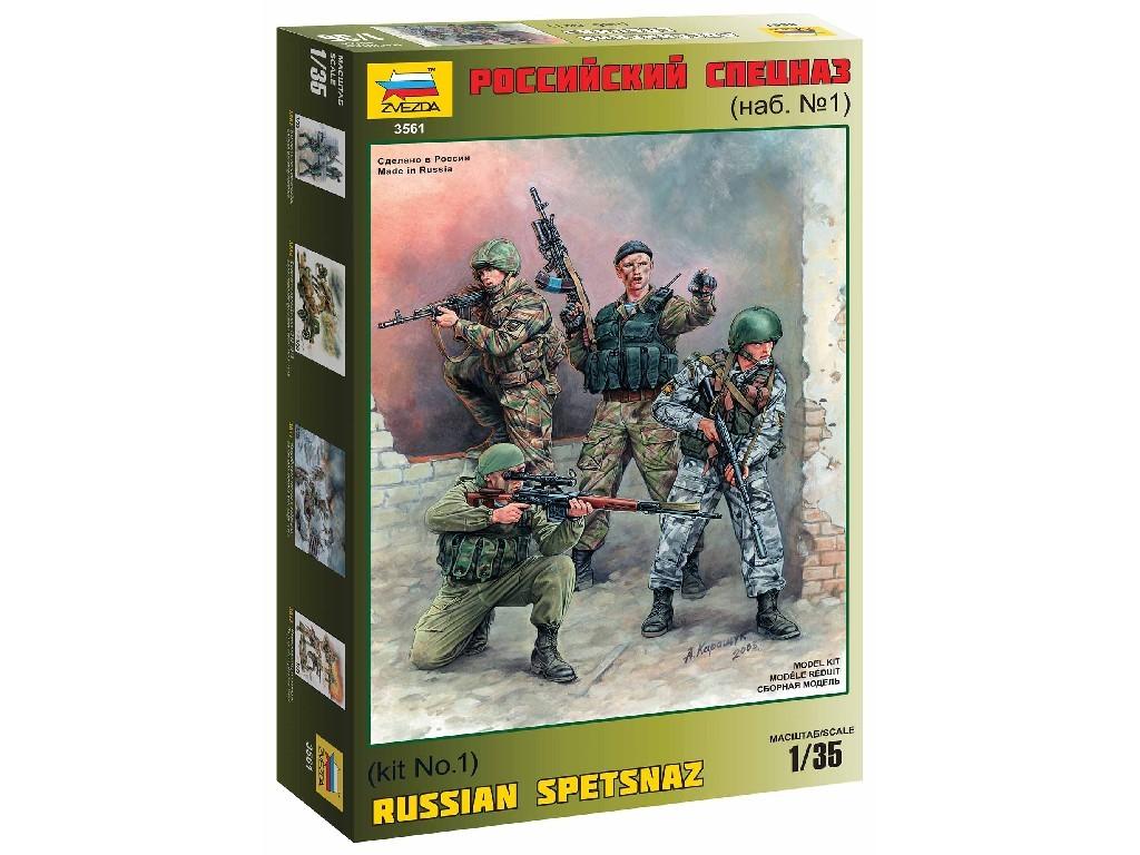 1/35 Plastikový model - figúrky 3561 - Russian Special Forces