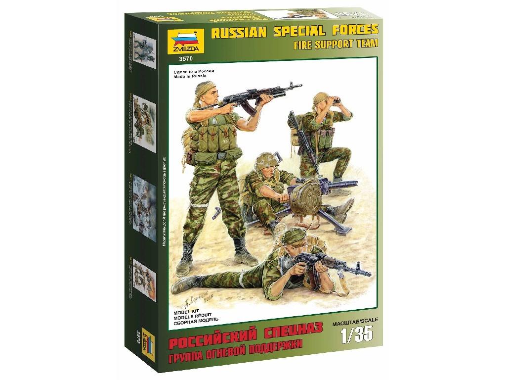 1/35 Plastikový model - figUrky 3570 - Russian Fire Team