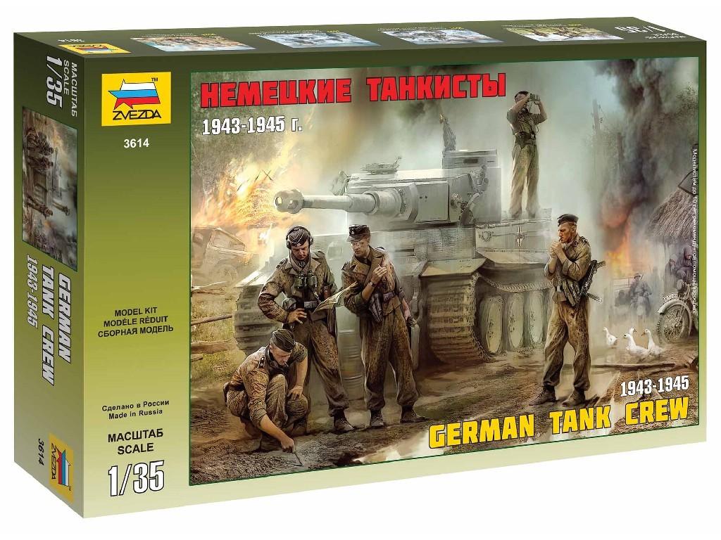 1/35 Plastikový model - figúrky 3614 - German Tank Crew (1943-1945)