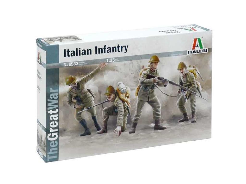 1/35 Plastikový model - figúrky 6532 - WWI ITALIAN INFANTRY