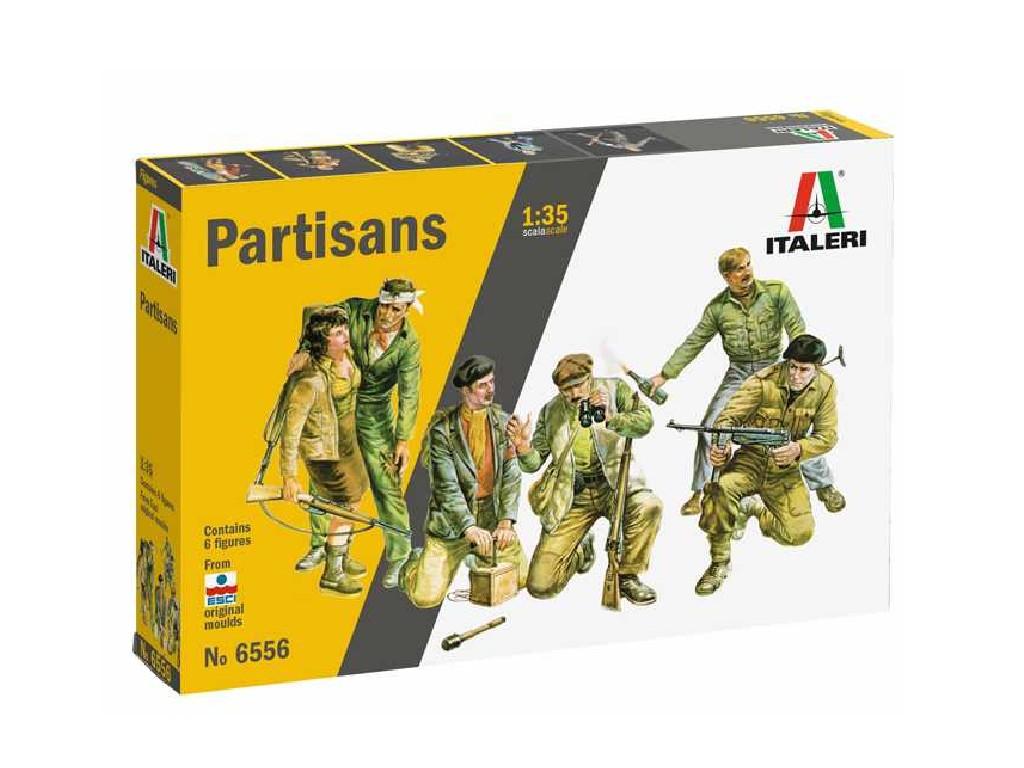 1/35 Plastikový model - figurky 6556 - Partisans