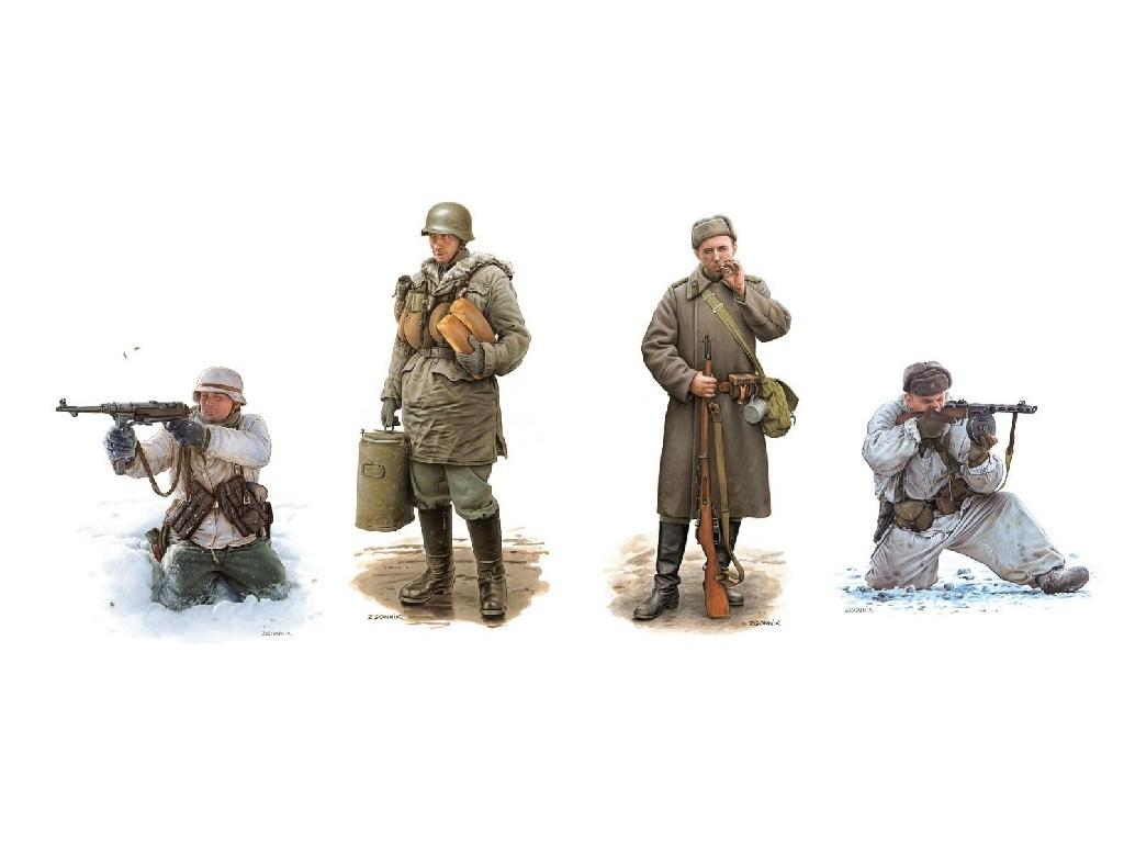 1/35 Plastikový model - figúrky 6782 - Battle of Kharkov 1943