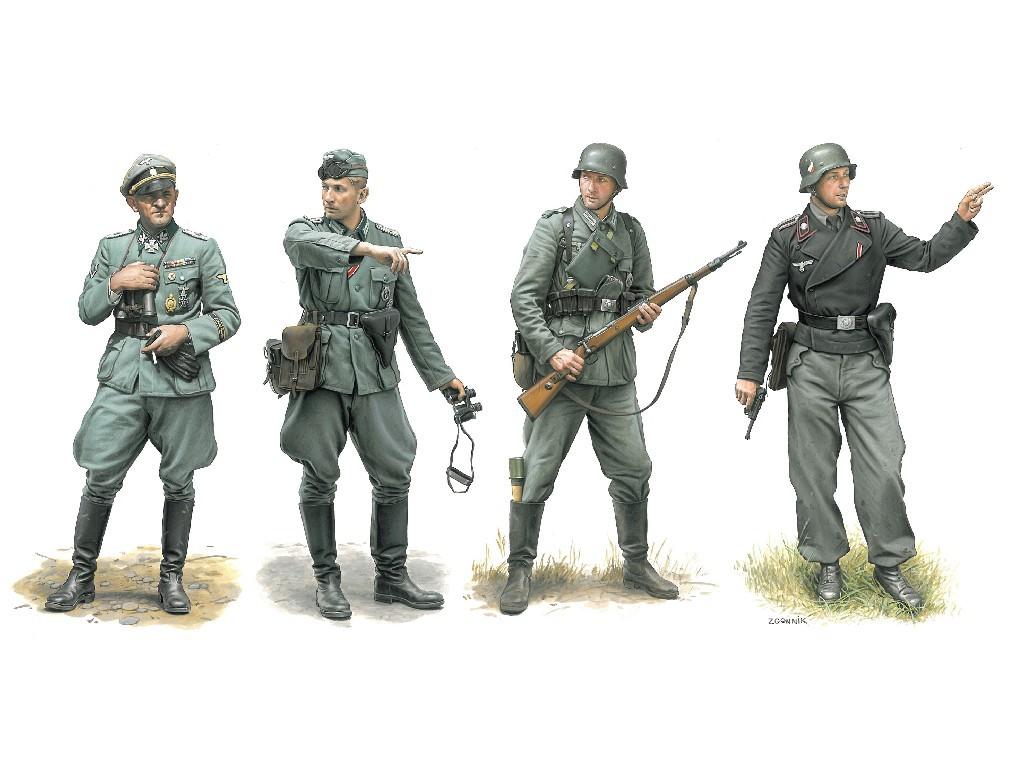 1/35 Plastikový model - figúrky 6783 - Operation Marita, Greece 1941