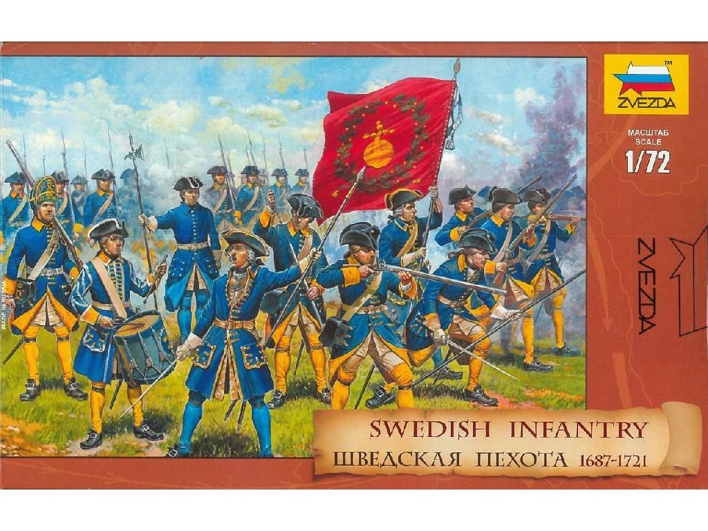 1/72 Plastikový model - figúrky 8048 - Swedish Infantry (re-release)