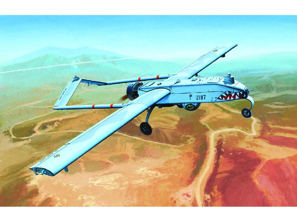 1/35 Plastikový model - letadlo 12117 - U.S.ARMY RQ-7B UAV