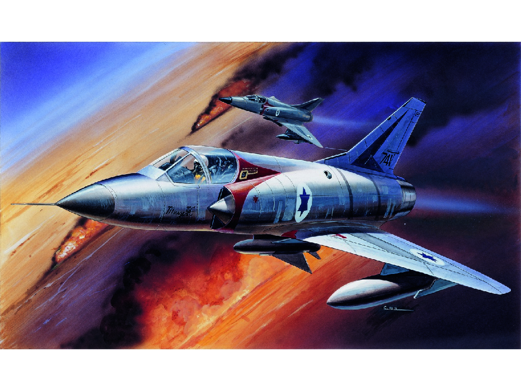 1/48 Plastikový model - lietadlo 12247 - MIRAGE III-C FIGHTER