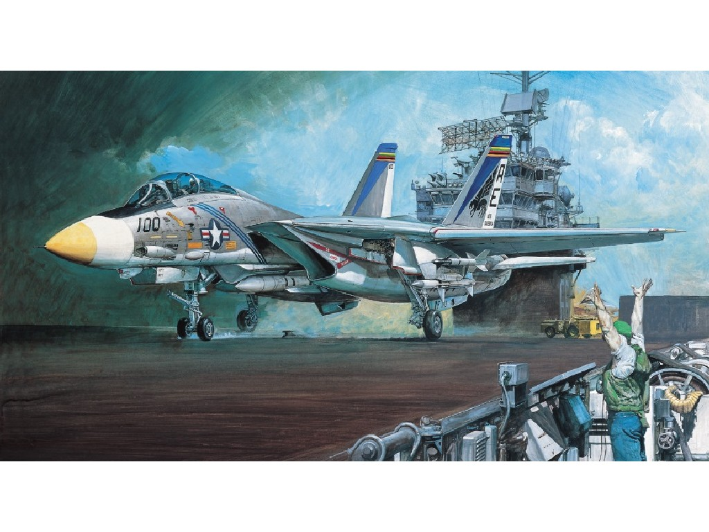 1/48 Plastikový model - letadlo 12253 - F-14A