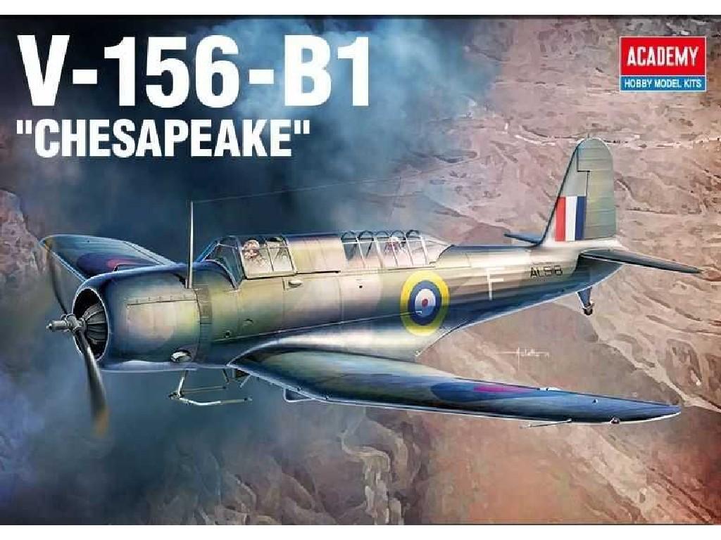 1/48 Plastikový model - letadlo 12330 - V-156-B1 Chesapeake