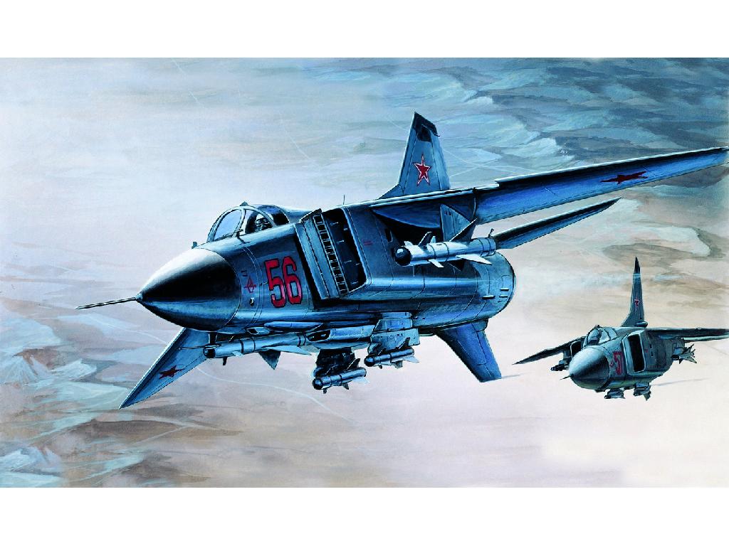 1/72 Plastikový model - lietadlo 12445 - M-23S FLOGGER-B