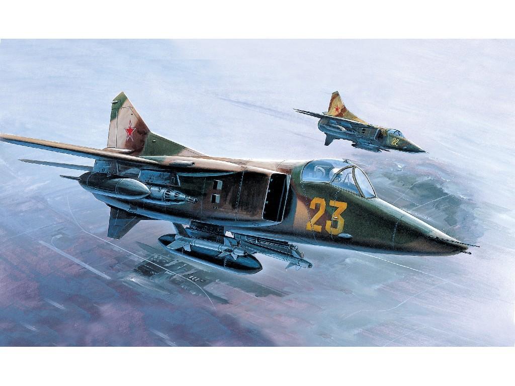 1/72 Plastikový model - lietadlo 12455 - M-27 FLOGGER-D