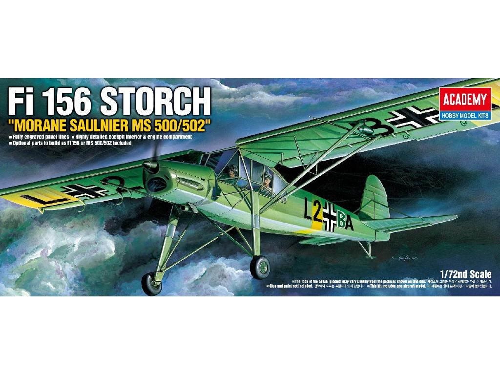 1/72 Plastikový model - letadlo 12459 - FIESELER FI-156 STORCH