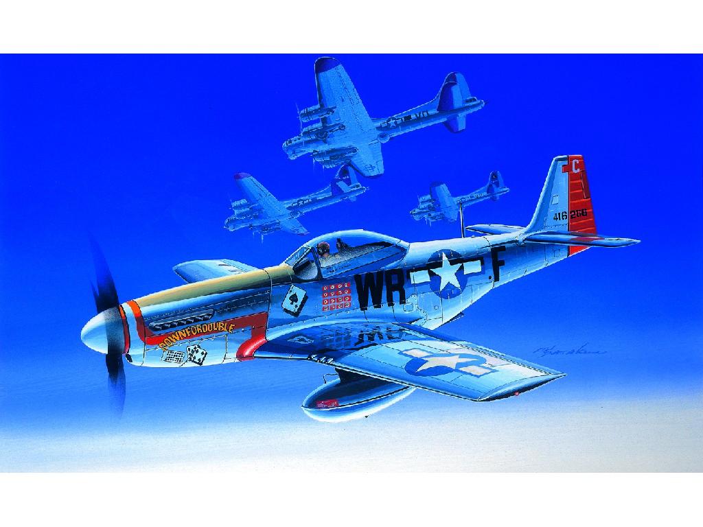 1/72 Plastikový model - lietadlo 12485 - P-51D