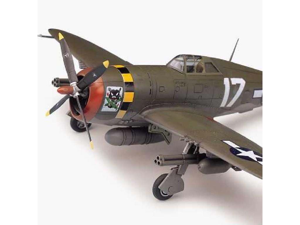 1/72 Plastikový model - lietadlo 12492 - P-47D RAZOR-BACK