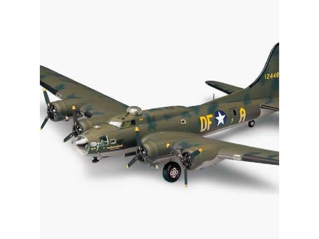 1/72 Plastikový model - letadlo 12495 - B-17F MEMPHIS BELLE