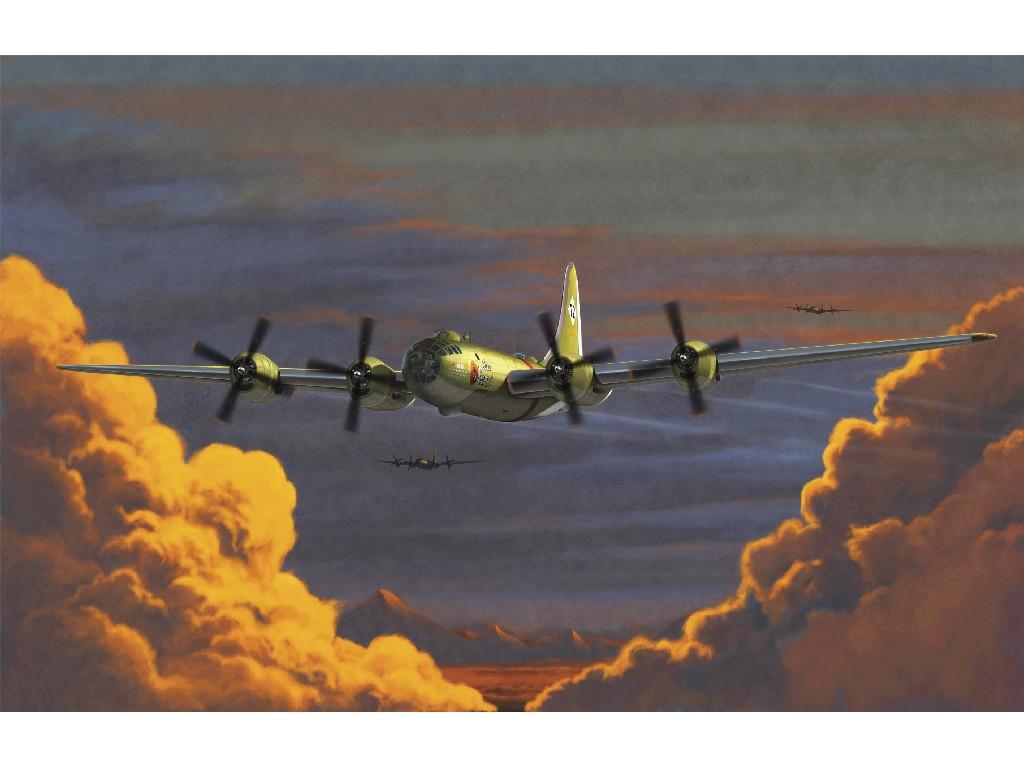 1/72 Plastikový model - letadlo 12517 - USAAF B-29A OLD BATTLER