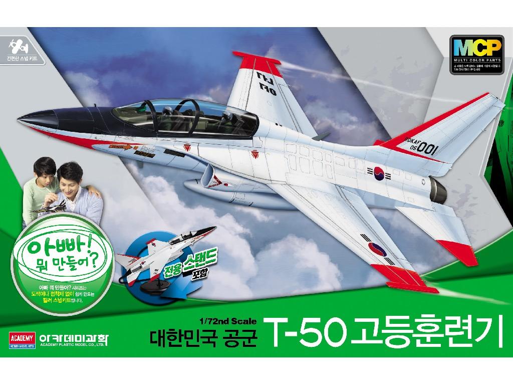 1/72 Plastikový model - letadlo 12519 - ROKAF T-50 ADVANCED TRAINER MCP