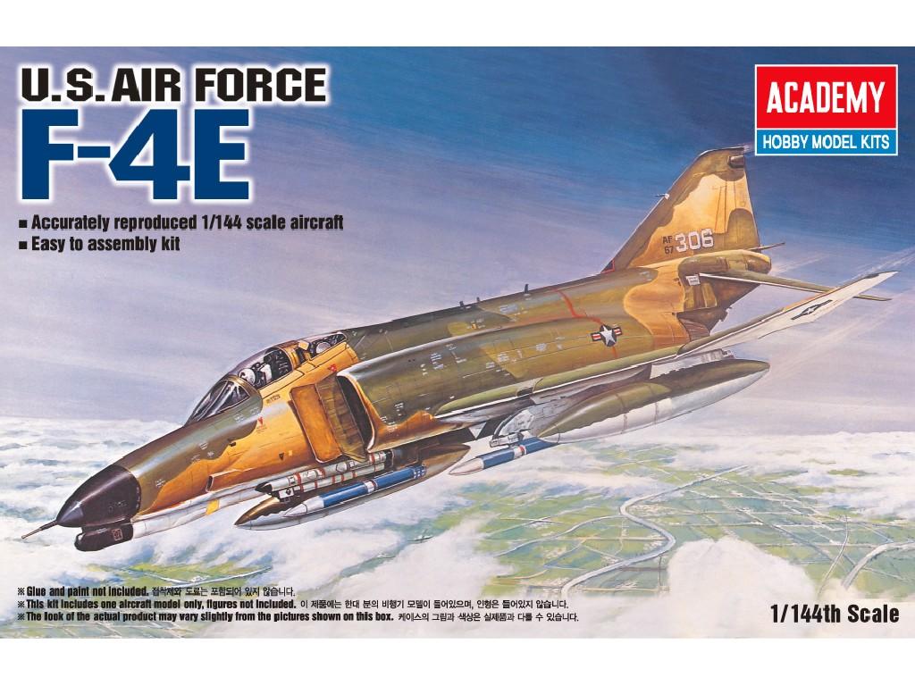 1/144 Plastikový model - lietadlo 12605 - F-4E