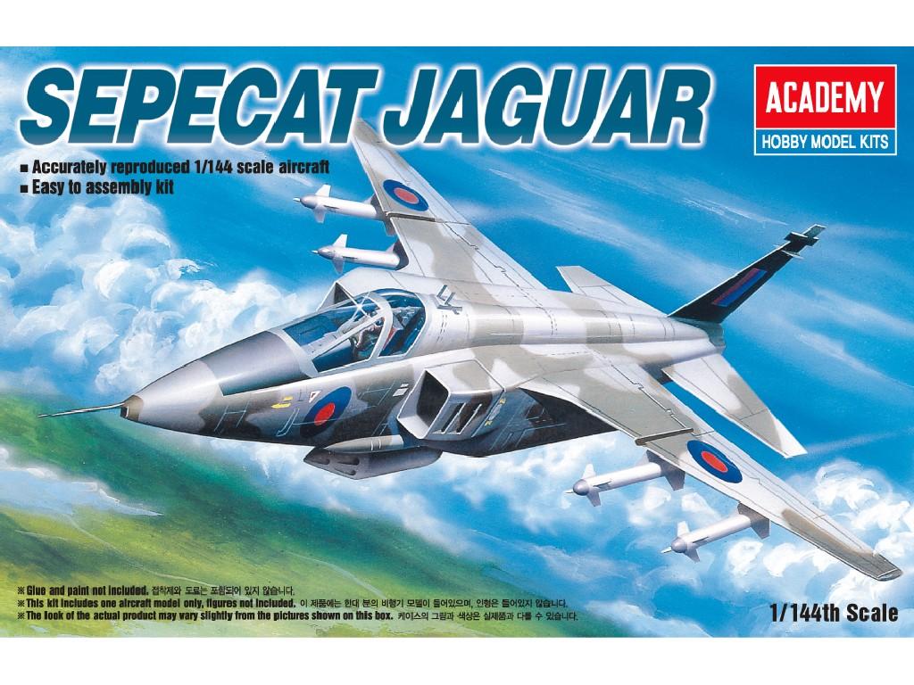 1/144 Plastikový model - letadlo 12606 - SEPECAT JAGUAR