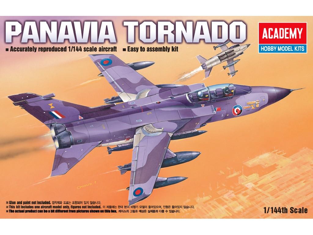 1/144 Plastikový model - letadlo 12607 - PANAVIA TORNADO 200