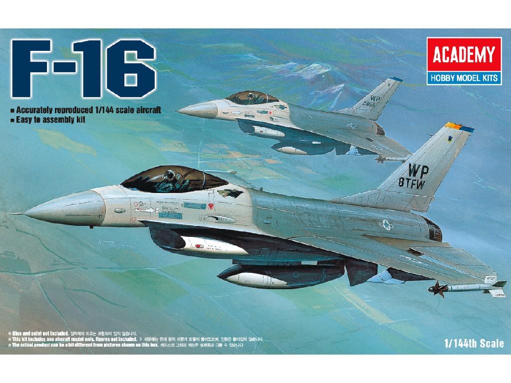 1/144 Plastikový model - lietadlo 12610 - F-16