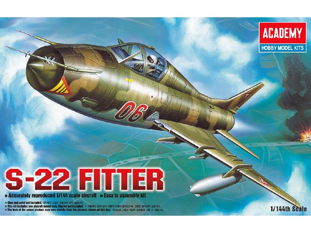 1/144 Plastikový model - lietadlo 12612 - S-22 FITTER