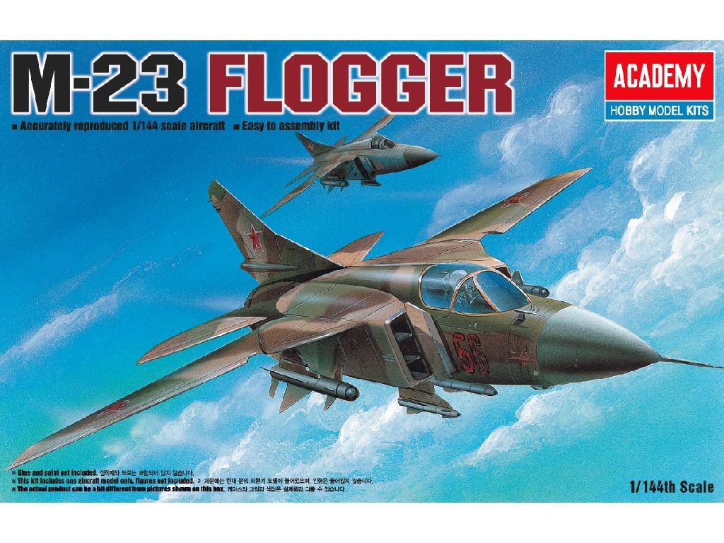 1/144 Plastikový model - letadlo 12614 - M-23 FLOGGER