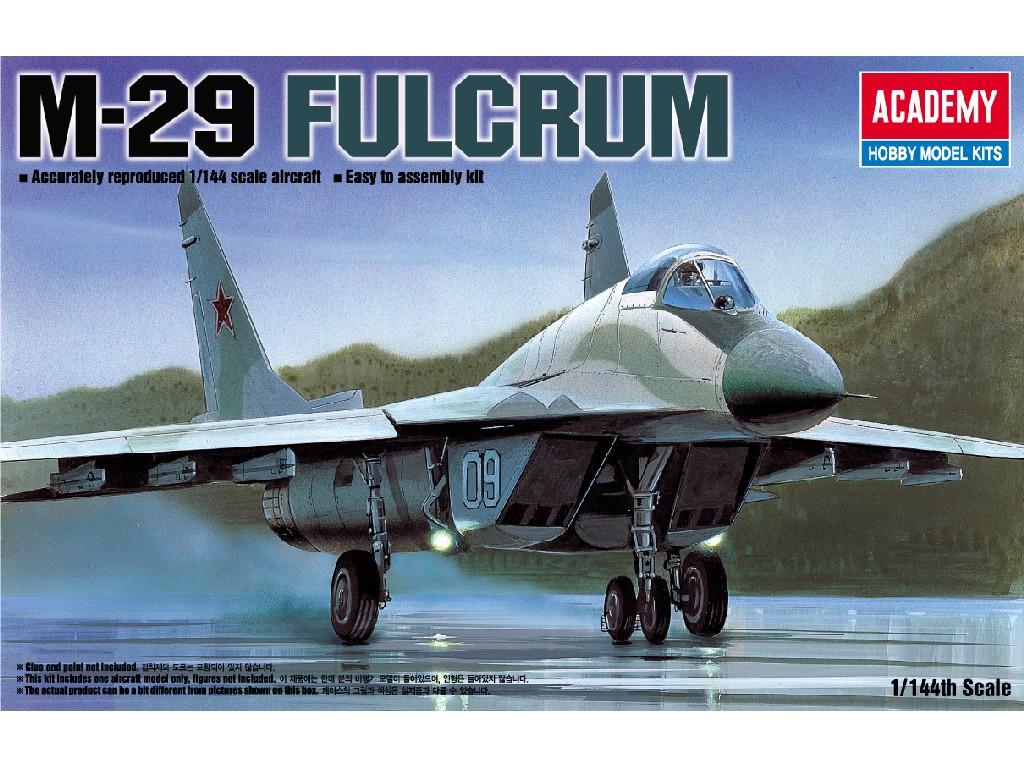 1/144 Plastikový model - letadlo 12615 - M-29 FULCRUM