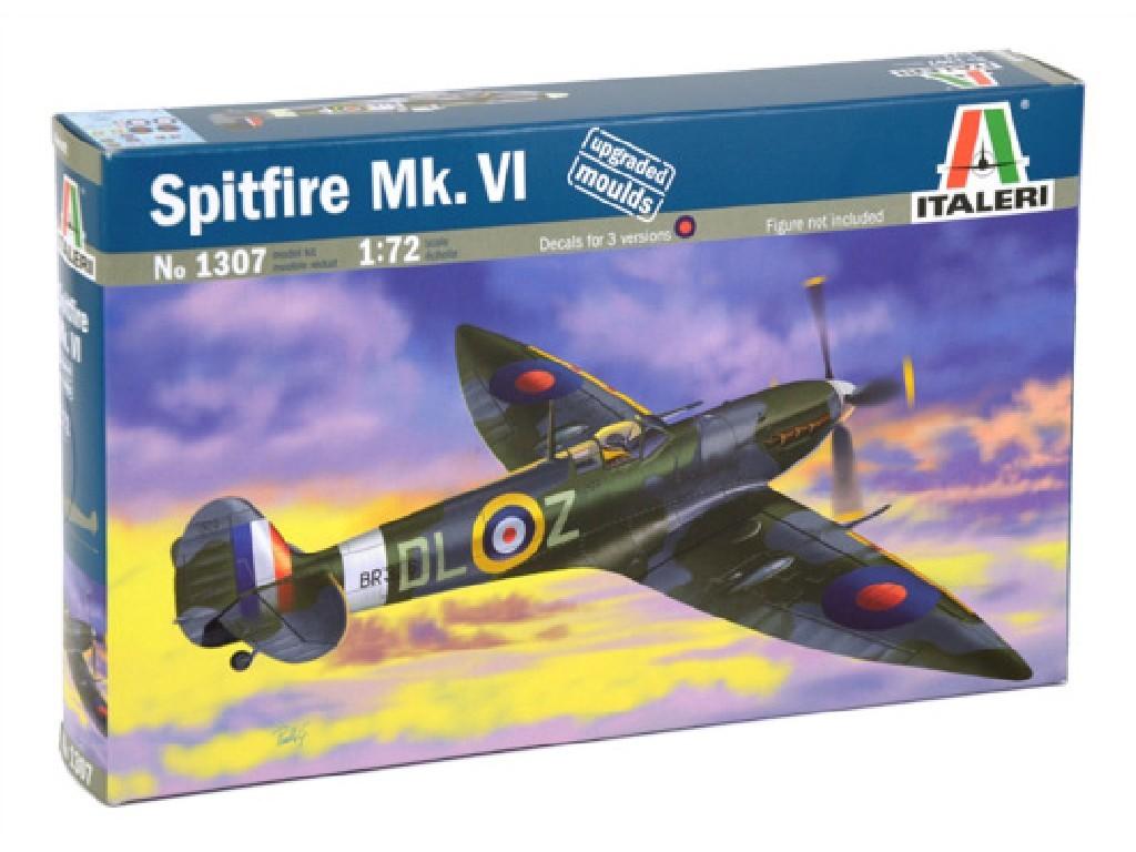 1/72 Plastikový model - lietadlo 1307 - SPITFIRE Mk.VI