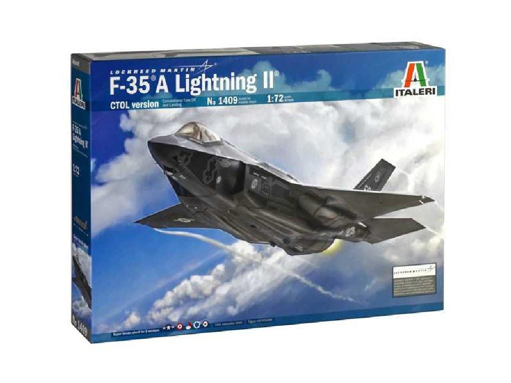 1/72 Plastikový model - lietadlo 1409 - F-35 A LIGHTNING II CTOL version
