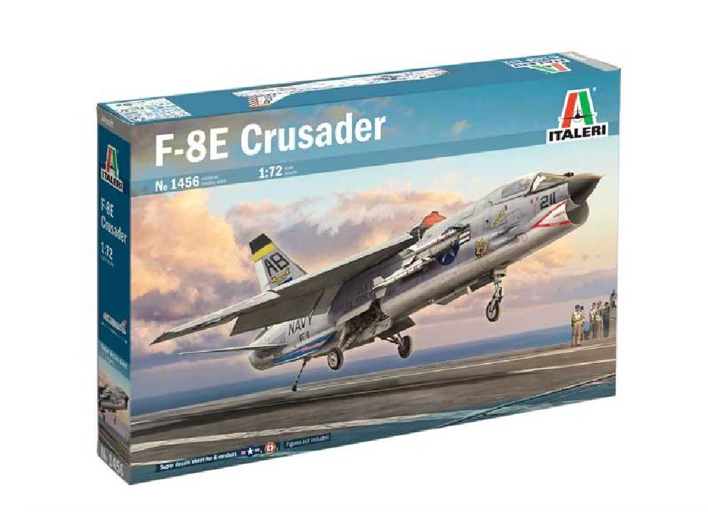 Model Kit letadlo 1456 - F-8E Crusader (1:72)