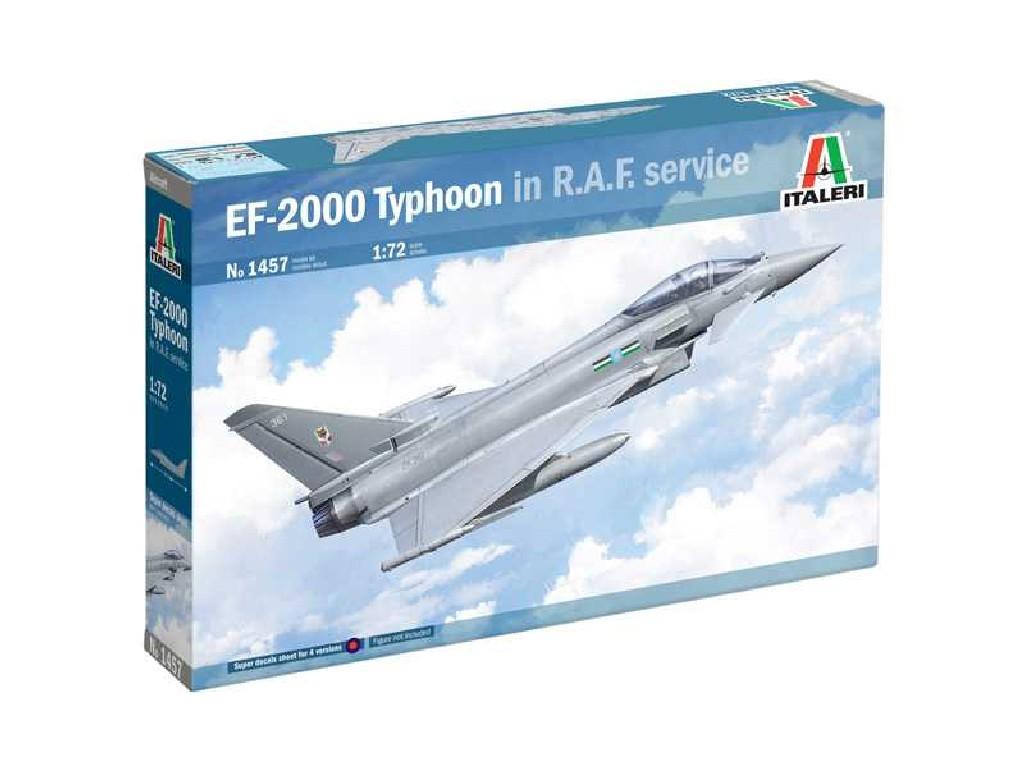 Model Kit letadlo 1457 - Eurofighter Typhoon EF-2000 In R.A.F. Service (1:72)