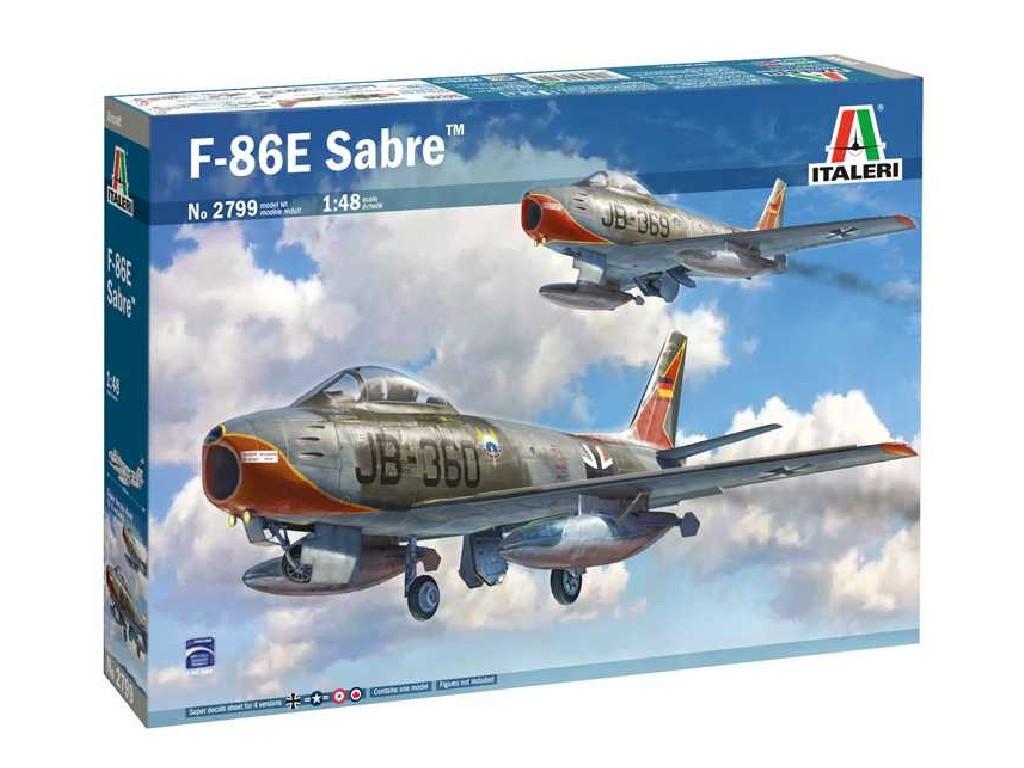 """1/48 Plastikový model - letadlo 2799 - F-86E """"Sabre"""""""