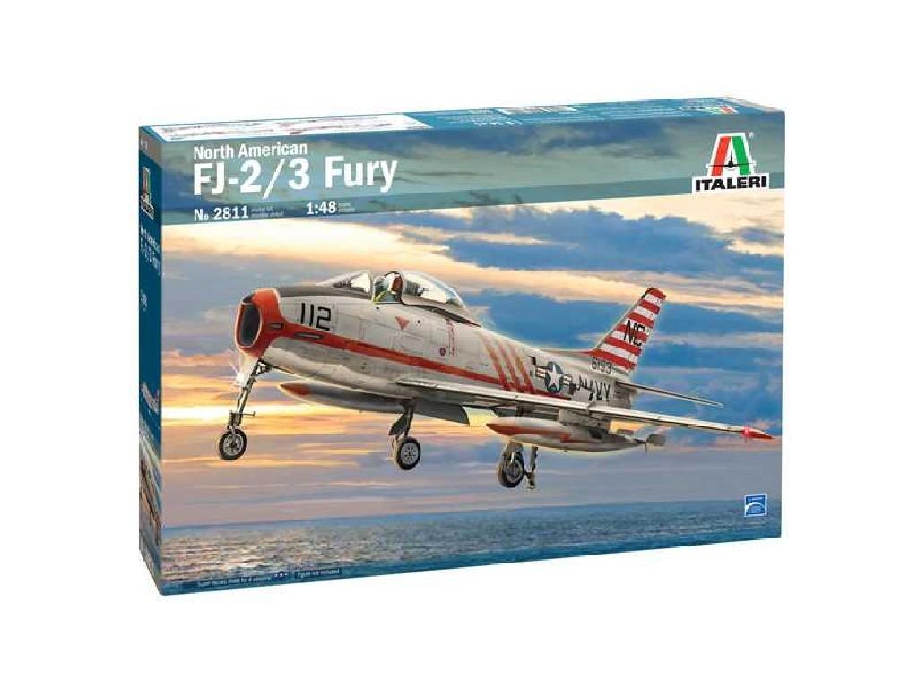 Italeri - 2811 - North American FJ-2/3 Fury 1:48