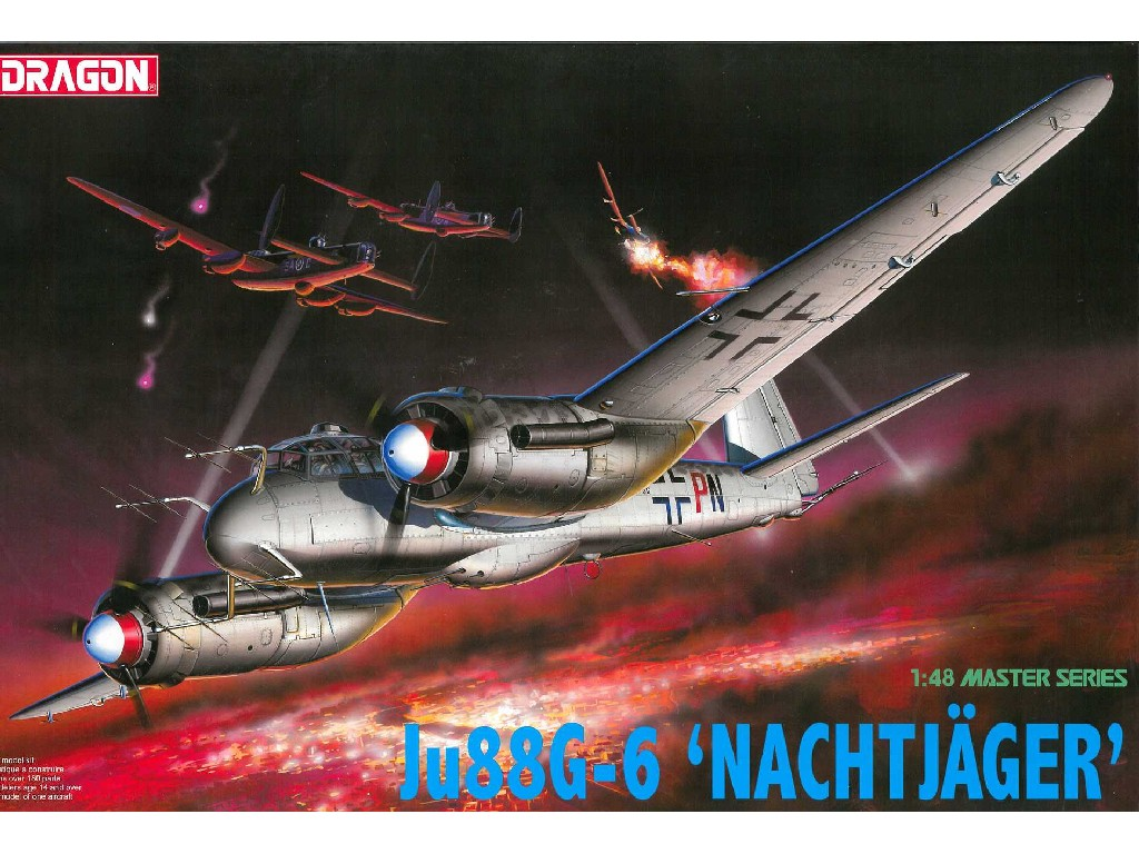 1/48 Plastikový model - lietadlo 5509 - Ju88G-6 NACHTJAGER