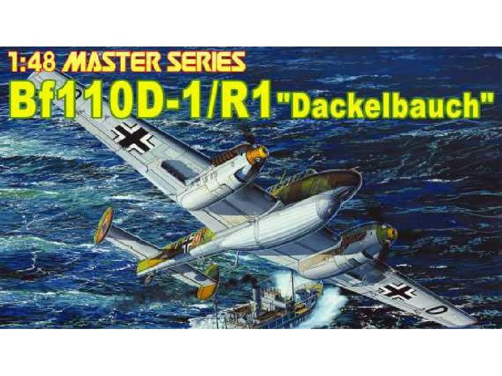 1/48 Plastikový model - letadlo 5556 - Bf110-D1/R1 DACKELBAUCH