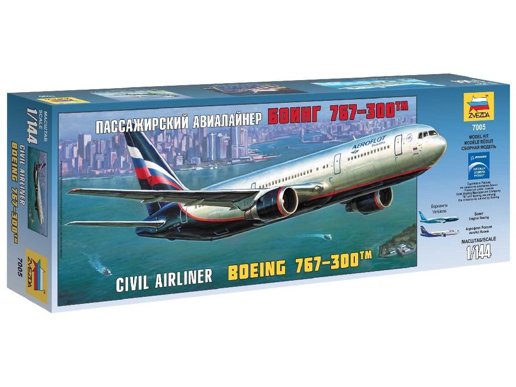 1/144 Plastikový model - letadlo 7005 - Boeing 767-300
