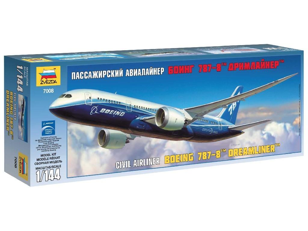 1/144 Plastikový model - letadlo 7008 - Boeing 787-8 Dreamliner