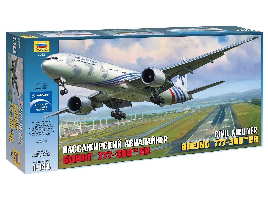 1/144 Plastikový model - letadlo 7012 - Boeing 777-300ER