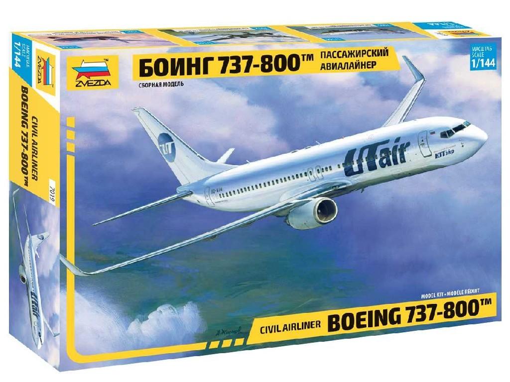 1/144 Plastikový model - letadlo 7019 - Boeing 737-800