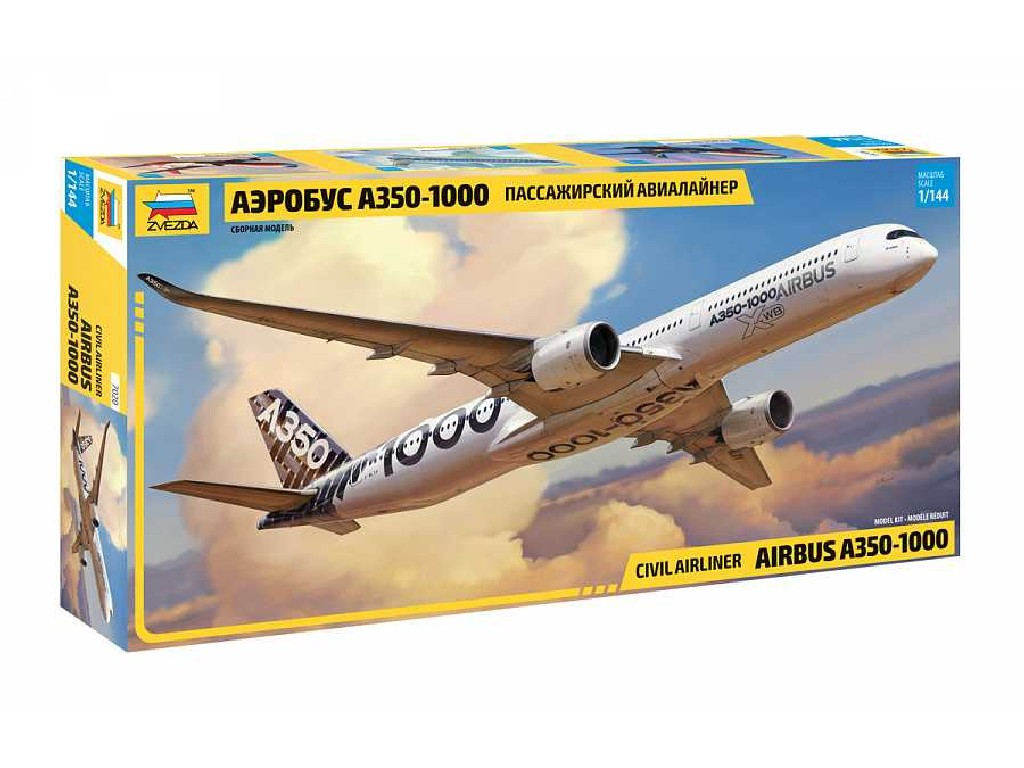 1/144 Plastikový model - letadlo 7020 - Airbus A-350-1000
