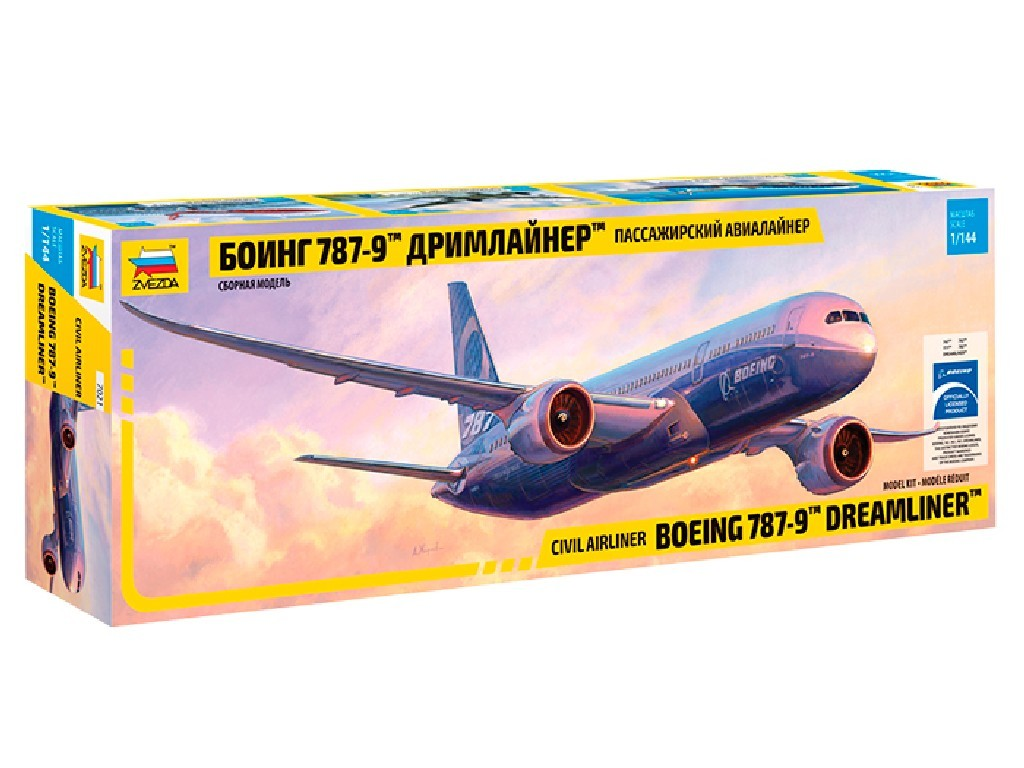 1/144 Plastikový model - letadlo 7021 - Boeing 787-9 Dreamliner