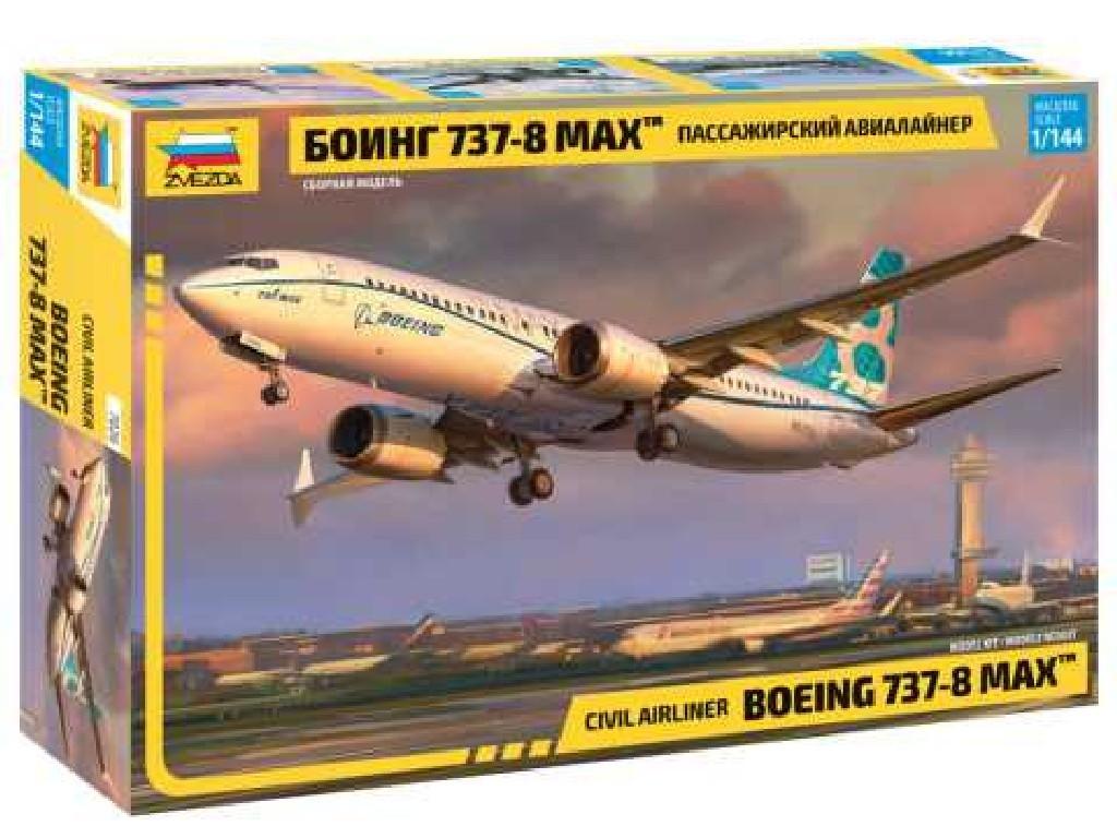 1/144 Plastikový model - letadlo 7026 - Boeing 737- 8 MAX