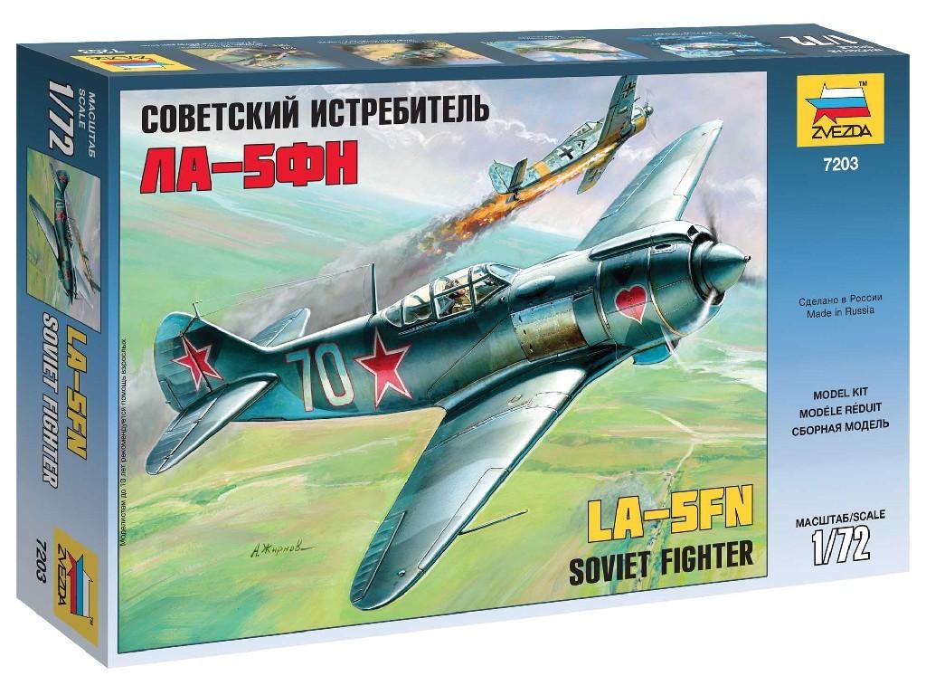 1/72 Plastikový model - lietadlo 7203 - Lavotchkin LA-5 FN Soviet Fighter