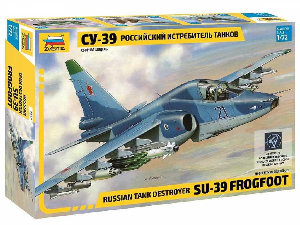 1/72 Plastikový model - letadlo 7217 - Suchoi SU-39